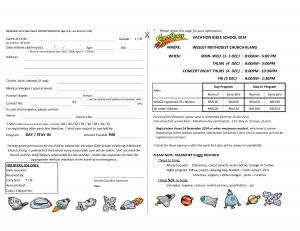 Klang Wesley VBS 2014 Reg Form - Page2